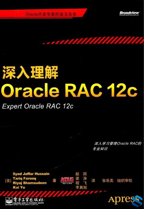 《深入理解Oracle RAC 12c Eexpert Oracle RAC》中文原版Oracle电子书 带完整书签